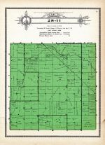 Township 28 Range 11, Inman, Grattan, Holt County 1915